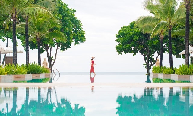 Layana Resort and Spa's Infinity Pool