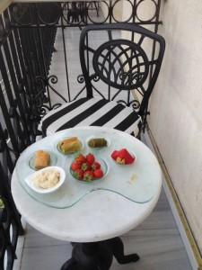 Pera Palace balcony
